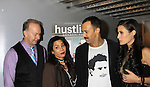 "Cary Cowling - Daphne Rubin-Vega - Sebastian La Cause - Jessica Press -  A private screening of Sebastian La Cause's web series ""Hustling"" Season Two - 'cause everybody got a hustle -  was held on November 19, 2012 at TriBeca's Cinemas, New York City, New York. Days of our Lives ""Silvio"", One Live To Live and All My Children's Sebastian is the creator of Hustling along with being the writer, director and star (Photo by Sue Coflin/Max Photos)"