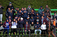 Fans watch the 2017 1st XV rugby Top Four boys final between Hastings Boys' High School and Hamilton Boys' High School at Sport and Rugby Institute in Palmerston North, New Zealand on Sunday, 10 September 2017. Photo: Dave Lintott / lintottphoto.co.nz