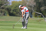 Pablo Larrazabal (ESP) in action on the 16th hole during Day 3 Saturday of the Open de Andalucia de Golf at Parador Golf Club Malaga 26th March 2011. (Photo Eoin Clarke/Golffile 2011)