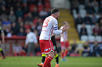 Ron Henry of Stevenage during Stevenage vs Cambridge United, Sky Bet EFL League 2 Football at the Lamex Stadium on 14th April 2018