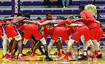 Stony Brook defeats UAlbany  69-60 in the America East Conference tournament quaterfinals at the  SEFCU Arena, Mar. 3, 2018.  Stony Brook pregame.