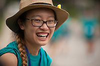 "Amber Huang poses for a portrait during ""Circle the City with Service,"" the Kiwanis Circle K International's 2015 Large Scale Service Project, on Wednesday, June 24, 2015, in Indianapolis. (Photo by James Brosher)"