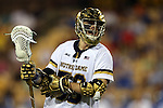 29 April 2016: Notre Dame's Matt Kavanagh. The University of Notre Dame Fighting Irish played the Duke University Blue Devils at Fifth Third Bank Stadium in Kennesaw, Georgia in a 2016 Atlantic Coast Conference Men's Lacrosse Tournament semifinal match. Duke won the game 10-9 in overtime.