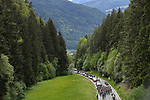 The peloton in action during Stage 17 of the 2019 Giro d'Italia, running 181km from Commezzadura (Val di Sole) to Anterselva / Antholz, Italy. 29th May 2019<br /> Picture: Fabio Ferrari/LaPresse | Cyclefile<br /> <br /> All photos usage must carry mandatory copyright credit (© Cyclefile | Fabio Ferrari/LaPresse)