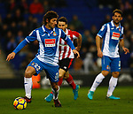 Granero, RCD Espanyol v Athletico Club Bilbao, Jornada 19 on 14 January 2018, RCDE Estadium, Barcelona. La Liga Santander 2018. Photo Martin Seras Lima