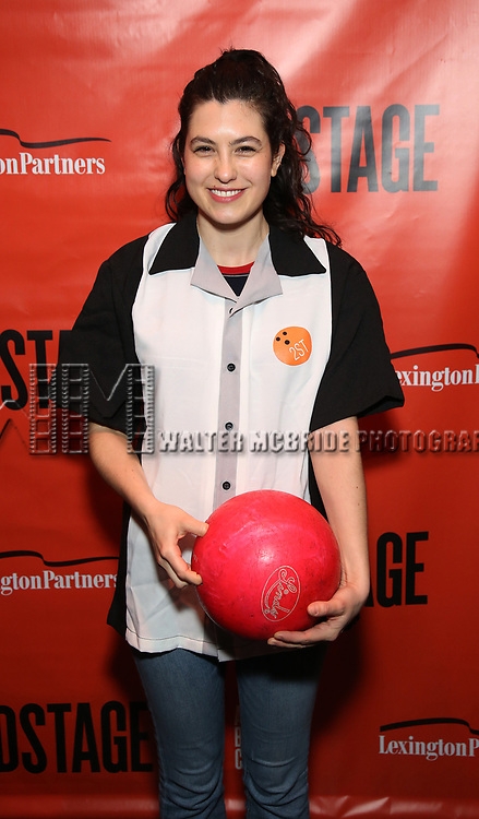 Tedra Millan attends the Second Stage Theatre 2018 Bowling Classic at Lucky Strike  on February 12, 2018 in New York City.