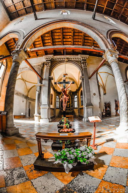 The Church of Madonna dell'Orto is one of the biggest and most beautiful churches in Venice. Built around the middle of 14th century, it holds works of art by artists such as Tintoretto, Palma il Giovane, Cima da Conegliano and many more.