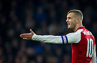 Jack Wilshere of Arsenal during the Carabao Cup semi final 1st leg match between Chelsea and Arsenal at Stamford Bridge, London, England on 10 January 2018. Photo by Andy Rowland.