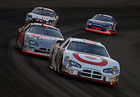 Apr 22, 2006; Phoenix, AZ, USA; Nascar Nextel Cup driver Reed Sorenson of the (41) Target Dodge Charger leads teammate David Stremme during the Subway Fresh 500 at Phoenix International Raceway. Mandatory Credit: Mark J. Rebilas-US PRESSWIRE Copyright © 2006 Mark J. Rebilas..