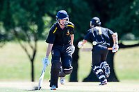 Action between Otago Boys High School and CS Wellington College during the Gillette Cup Finals, Hagley Park, Christchurch, New Zealand. 5th December 2019. Photo: John Davidson, www.bwmedia.co.nz