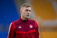 24th November 2019; McDairmid Park, Perth, Perth and Kinross, Scotland; Scottish Premiership Football, St Johnstone versus Aberdeen; Sam Cosgrove of Aberdeen inspects the pitch before the match - Editorial Use