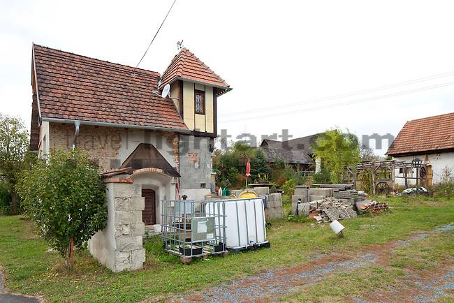 Altes Haus in Reinersdorf, Heiligenbrunn, Bezirk Güssing, Burgenland, Austria, Österreich