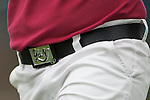 TAOYUAN, TAIWAN - OCTOBER 28:  Yani Tseng's belt is pictured on the 15th hole during the day four of the Sunrise LPGA Taiwan Championship at the Sunrise Golf Course on October 28, 2012 in Taoyuan, Taiwan.  Photo by Victor Fraile / The Power of Sport Images