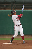29 October 2007: Erikka Moreno during practice at the Boyd and Jill Smith Stadium in Stanford, CA.