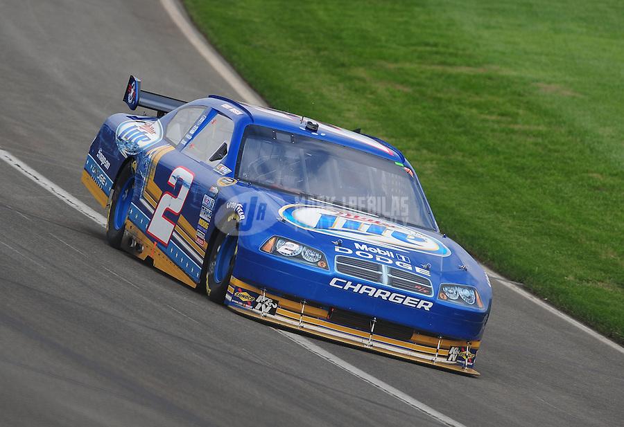Oct. 11, 2009; Fontana, CA, USA; NASCAR Sprint Cup Series driver Kurt Busch during the Pepsi 500 at Auto Club Speedway. Mandatory Credit: Mark J. Rebilas-