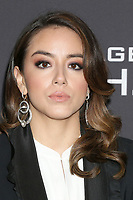 "LOS ANGELES - FEB 24:  Chloe Bennet at ""Marvel's Agents Of S.H.I.E.L.D."" 100th Episode Party at Ohm Nightclub on February 24, 2018 in Los Angeles, CA"