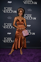 "NEW YORK - APRIL 8: Rachel Naomi Hilson attends the premiere event for FX's ""Fosse Verdon"" presented by FX Networks, Fox 21 Television Studios, and FX Productions at the Gerald Schoenfeld Theatre on April 8, 2019 in New York City. (Photo by Anthony Behar/FX/PictureGroup)"