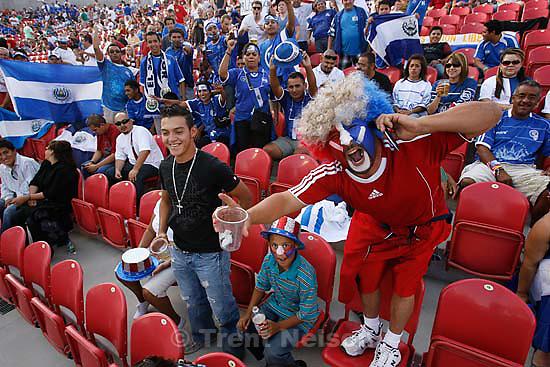 Sandy - USA vs. El Salvadar FIFA World Cup Qualifier Soccer Saturday, September 5 2009 at Rio Tinto Stadium. .fans