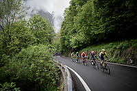 breakaway group led by Luke Durbridge (AUS/Mitchelton-Scott)<br /> <br /> Stage 16: Lovere to Ponte di Legno (194km)<br /> 102nd Giro d'Italia 2019<br /> <br /> ©kramon