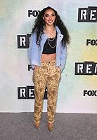 "08 January 2019 - Los Angeles, California - Tinashe. FOX Hosts ""RENT"" Press Junket held at the FOX Lot. Photo Credit: Faye Sadou/AdMedia"