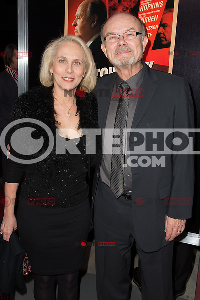 """November 20, 2012 - Beverly Hills, California - Joan Pirkle and Kurtwood Smith at the """"Hitchcock"""" Los Angeles Premiere held at the Academy of Motion Picture Arts and Sciences Samuel Goldwyn Theater. Photo Credit: Colin/Starlite/MediaPunch Inc"""