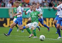 FUSSBALL   DFB POKAL   SAISON 2011/2012  1. Hauptrunde      30.07.2011 FC Heidenheim - Werder Bremen Marko Marin (Mitte, SV Werder Bremen) verschiesst einen Elfmeter beim Stand von 0-1 fuer Bremen.