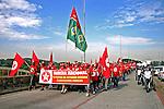Marcha da Frente Nacional de Luta e Ato Unificado da FNLe MTST. Sao Paulo. 2014. Foto de Lineu Kohatsu.