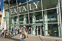 Esterno del nuovo edificio di Eataly a Milano. 16 Aprile 2014. Photo: Adamo Di Loreto/BuenaVista*photo