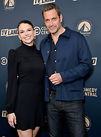 30 May 2019 - West Hollywood, California - Sutton Foster, Peter Hermann. Paramount Network, Comedy Central, TV Land Press Day 2019 held at The London West Hollywood  . Photo Credit: Birdie Thompson/AdMedia<br /> CAP/ADM/BT<br /> ©BT/ADM/Capital Pictures