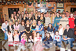 Joanne O'Shea Glenbeigh seated centre celebrated her 21st birthday with her family and friends in the Red Fox Inn, Glenbeigh on Saturday night
