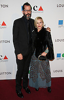 LOS ANGELES, CA, USA - MARCH 29: Patricia Arquette at the MOCA's 35th Anniversary Gala Presented By Louis Vuitton held at The Geffen Contemporary at MOCA on March 29, 2014 in Los Angeles, California, United States. (Photo by Celebrity Monitor)