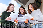 RELIEF: It was a relief to finally have the Jr. Cert. results in their hands for Ali Cavanagh, and cousins Maeve Byrne and Tara Byrne, in Mercy Mounthawk Secondary Tralee on Wednesday morning.