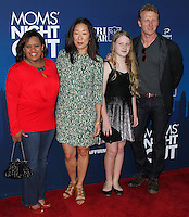 "HOLLYWOOD, LOS ANGELES, CA, USA - APRIL 29: Chandra Wilson, Sandra Oh, Kevin McKidd at the Los Angeles Premiere Of TriStar Pictures' ""Mom's Night Out"" held at the TCL Chinese Theatre IMAX on April 29, 2014 in Hollywood, Los Angeles, California, United States. (Photo by Xavier Collin/Celebrity Monitor)"