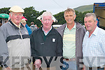 IN CHARGE: Willie ODriscoll, Jimmy Curran, Liam Musgrave and Kieran McCarthy from the Caherciveen races committee, overseeing events at the Caherciveen races on Sunday.  .