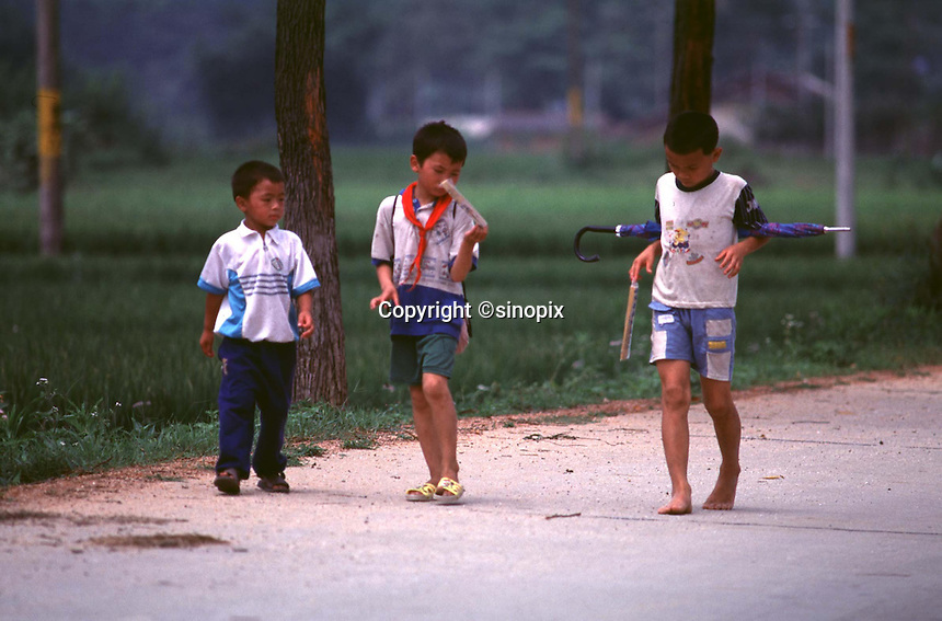 BOYS IN GUANGDON, CHINA<br /> &copy;sinopix