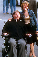 Chris Reeve and Dana Reeve 2000<br /> Photo By John Barrett/PHOTOlink.net /MediaPunch
