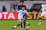 Javokhir Sidikov of Uzbekistan in action during the AFC Asian Cup UAE 2019 Group F match between Japan (JPN) and Uzbekistan (UZB) at Khalifa Bin Zayed Stadium on 17 January 2019 in Al Ain, United Arab Emirates. Photo by Marcio Rodrigo Machado / Power Sport Images