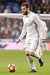 Real Madrid's Nacho Fernandez during La Liga match between Real Madrid and Real Sociedad at Santiago Bernabeu Stadium in Madrid, Spain. January 29, 2017. (ALTERPHOTOS/BorjaB.Hojas)