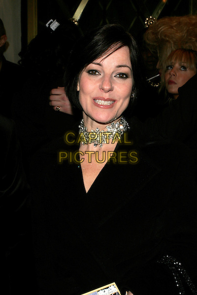 RUTHIE HENSHALL.Duncan James' Birthday Party, Pigalle Club, Picadilly, London, England..April 8th, 2008.half length black jacket diamond necklace choker .CAP/AH.©Adam Houghton/Capital Pictures.