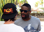 MIAMI BEACH, FL - JUNE 21: DJ Irie attend Irie Weekend-IWX - BBQ Beach Bash Pool Party at National Hotel on Saturday June 21, 2014 in Miami Beach, Florida. (Photo by Johnny Louis/jlnphotography.com)