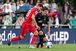 20.07.2019, Heinz-Dettmer-Stadion, Lohne, GER, Interwetten Cup, SV Werder Bremen vs 1. FC Koeln<br /> <br /> im Bild<br /> Salih Özcan / Oezcan (Koeln #20) im Duell / im Zweikampf mit Yuya Osako (Werder Bremen #08)9, <br /> <br /> Foto © nordphoto / Ewert