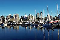 Vancouver harbor, Vancouver, British Columbia, Canada