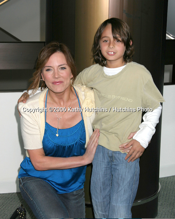 "Krista Allen & Son.""Keeping Up With the Steins"" Screening.Pacific Design Center.Los Angeles, CA.May 8, 2006.©2006 Kathy Hutchins / Hutchins Photo...."