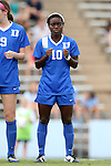 22 August 2014: Duke's Toni Payne. The Duke University Blue Devils played The Ohio State University Buckeyes at Fetzer Field in Chapel Hill, NC in a 2014 NCAA Division I Women's Soccer match. Ohio State won the game 1-0.