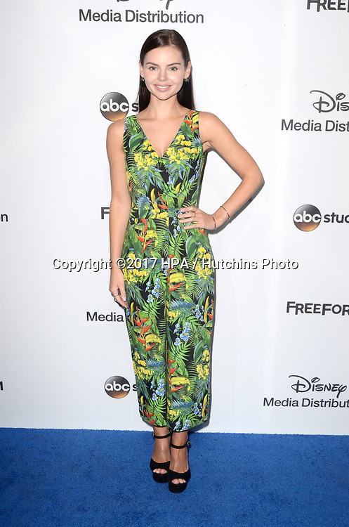 LOS ANGELES - MAY 21:  Eline Powell at the 2017 ABC/Disney Media Distribution International Upfront at the Walt Disney Studios on May 21, 2017 in Burbank, CA