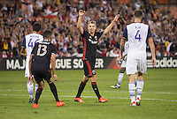 Washington, D.C. - September 24, 2016: D.C. United defeated Orlando City SC 4-1 in a MLS match at RFK Stadium..