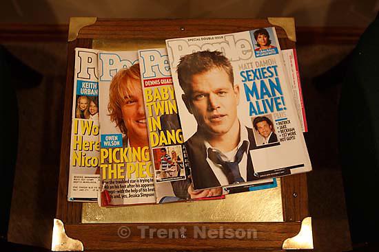 Murray - People Magazine - Matt Damon as sexiest man alive, Owen Wilson