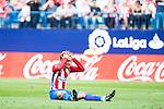 Atletico de Madrid's player Antoine Griezmann during a match of La Liga Santander at Vicente Calderon Stadium in Madrid. September 17, Spain. 2016. (ALTERPHOTOS/BorjaB.Hojas)