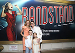 Elly Blankenbuehler, Andy Blankenbuehler, Luca Blankenbuehler and Sofia Blankenbuehler attends the Broadway Opening Night performance of 'Bandstand' at the Bernard B. Jacobs Theatre on 4/26/2017 in New York City.
