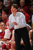 STANFORD, CA - FEBRUARY 7:  Tara VanDerveer of the Stanford Cardinal during Stanford's 77-39 win over USC on February 7, 2010 at Maples Pavilion in Stanford, California.